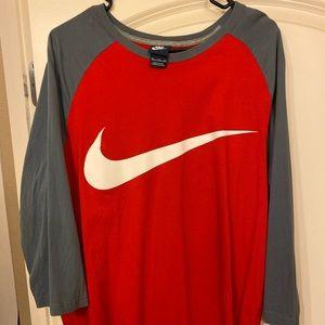 Nike baseball tee